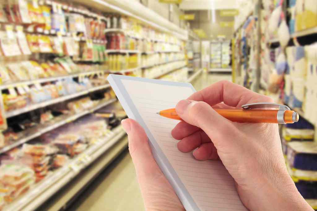 When Are Shopping Lists A Waste of Time?